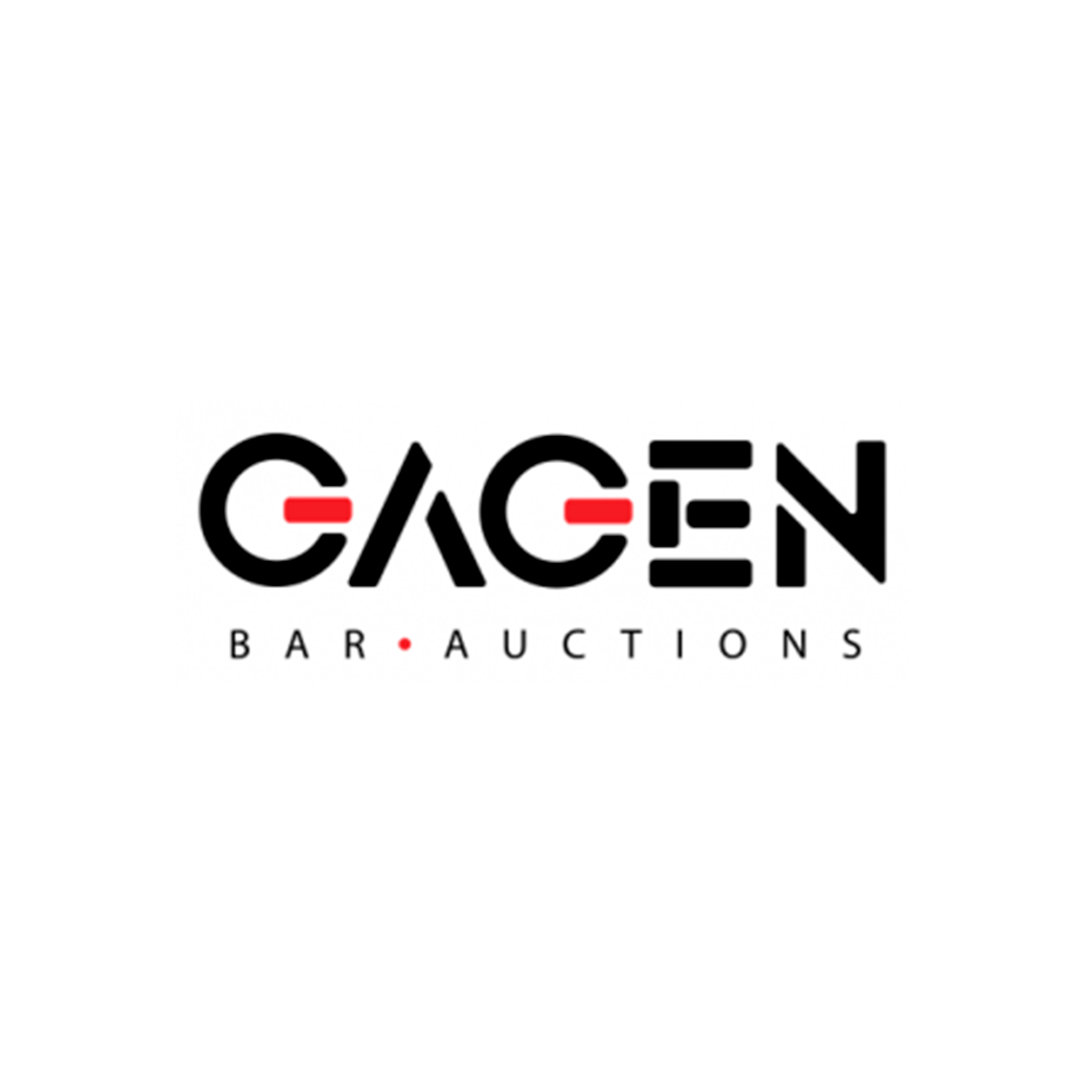 Логотип GAGEN BAR AUCTIONS