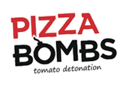 Логотип Pizza bombs