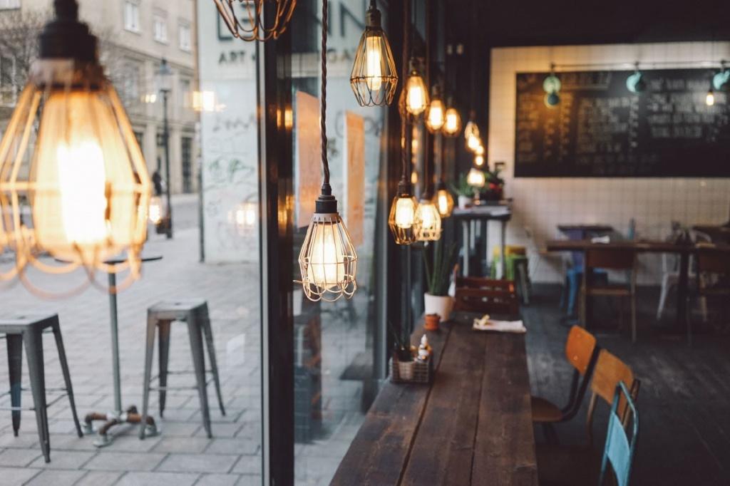 Уютная кофейня