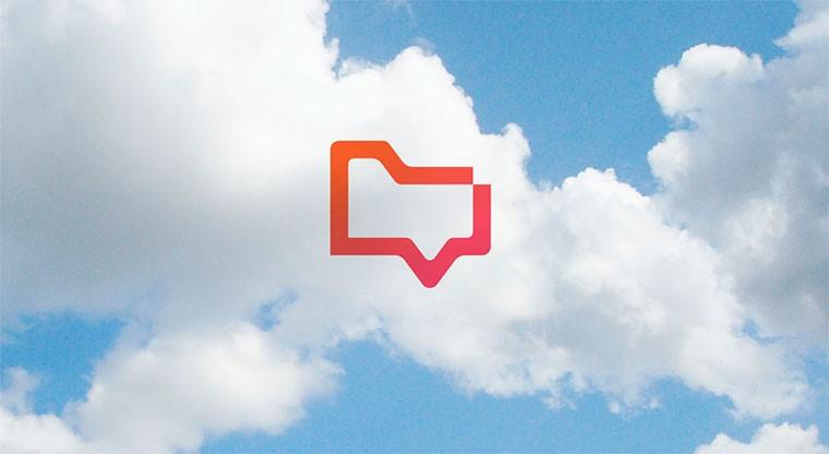 Логотип «filechat» для работы в интернете