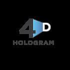 Логотип Голограммы в воздухе 4D Hologram