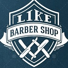 "Логотип BarberShop ""Like"""