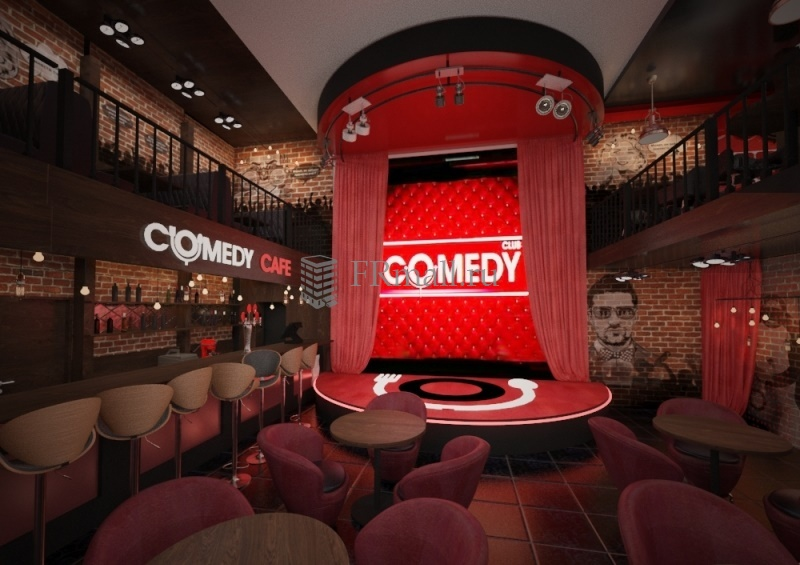Фото франшизы Comedy Cafe